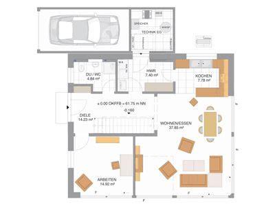 Grundriss Haus Modern  Googlesuche Hausideen