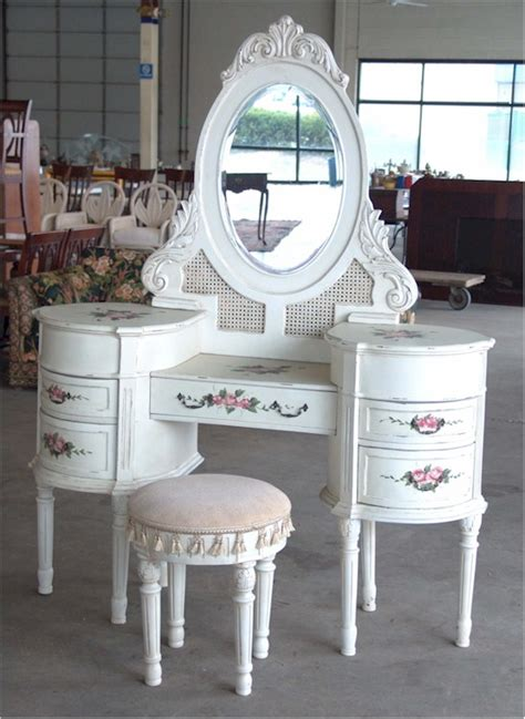 renovating furniture shabby chic the dressing table is not out of fashion