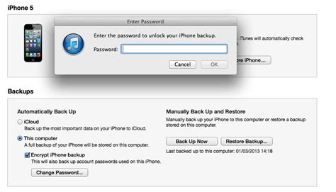 how to get photos my iphone itunes how do i get rid of my encrypted iphone backups