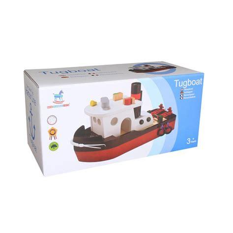 Sleepboot Houten by Sleepboot New Classic Toys Www 3vosjes Nl