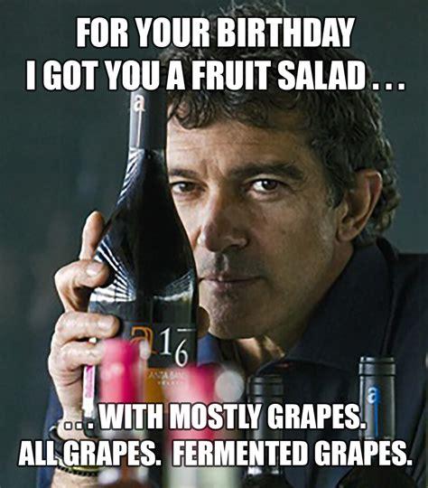 Wine Birthday Meme - how to make a meme wine label