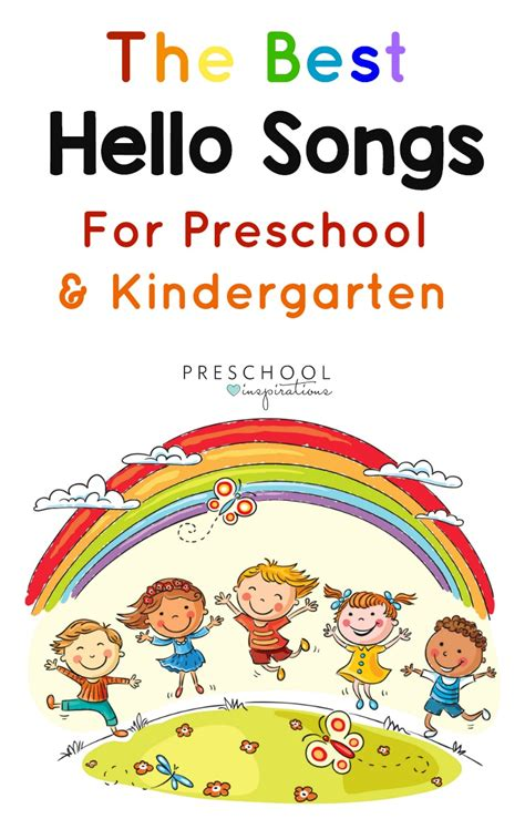 The Best Hello Songs For Your Circle Time In Preschool Or Kindergarten