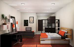 apartments how to decorating an one room apartment design With picture of one room design