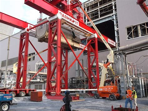 modular lift tower barnhart crane rigging