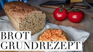 Brot Backen Glutenfrei : brot ganz einfach selbst backen grundrezept auch glutenfrei mit koro p youtube ~ Frokenaadalensverden.com Haus und Dekorationen