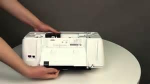 fixing a paper jam for the hp deskjet 1510 2540 deskjet