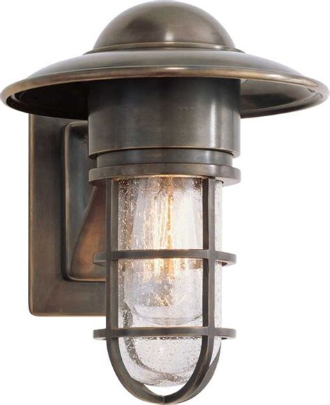 marine wall light but chrome with clear glass above