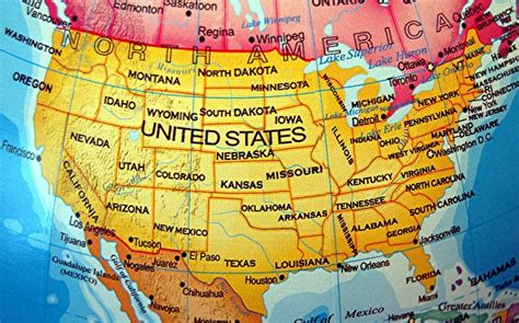 travel usa us map with cities listed www proteckmachinery com