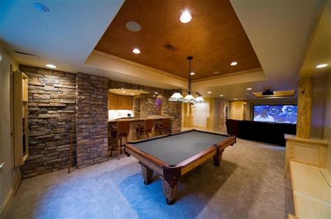 10 Extraordinary Basement Home Theater That You'd Wish To Own