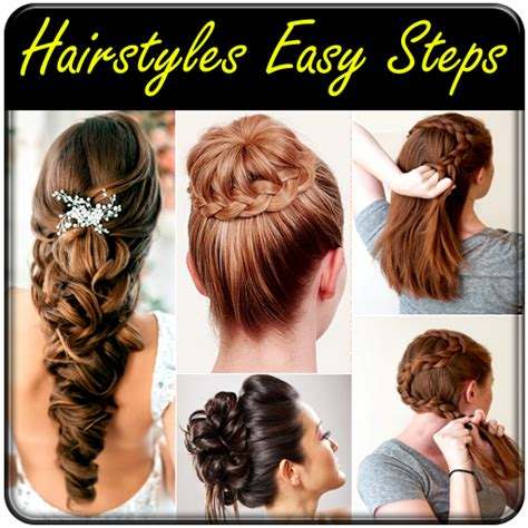 hairstyles easy hairstyles step  step hair styles