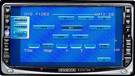 Kenwood Double Din Deck Diamond Audio Sub