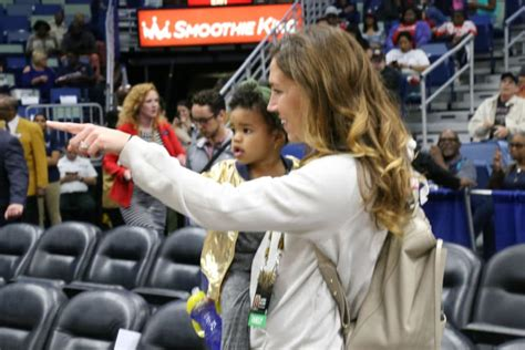 pelicans celebrate fathers day  jrue holiday  jrue