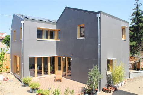 maison ossature bois lyon maison basse consommation 224 lyon 8 232 me effinergie fabien perret architecte lyon