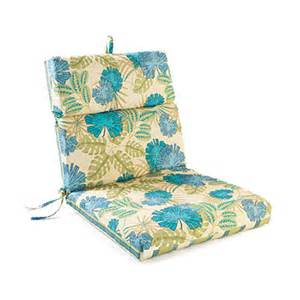 rossi blossom stripes reversible outdoor chair cushion