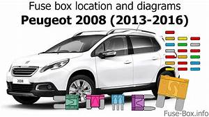Fuse Box Location And Diagrams  Peugeot 2008  2013-2016