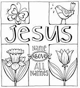 Hidden Library Treasures Printable Coloring Printables Bible Jesus Scripture Cards Karladornacher Colouring Names I1 sketch template
