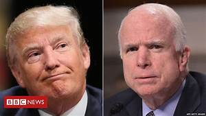 Trump sparks anger with McCain war record comments - BBC News