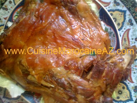 cuisine marocaine tajine agneau cuisine marocaine gigot four
