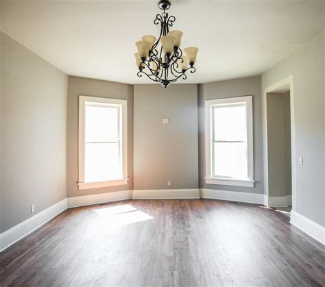hardwood flooring contractors wall painting or floor refinishing what comes first
