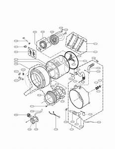 Lg Washer Drum And Tub Parts