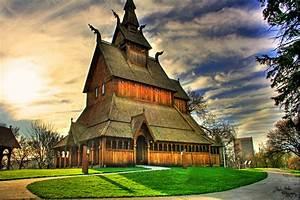 Wooden churches in Sweden