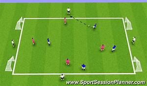 Football  Soccer  4v4v4 Mini Goal Game  Small