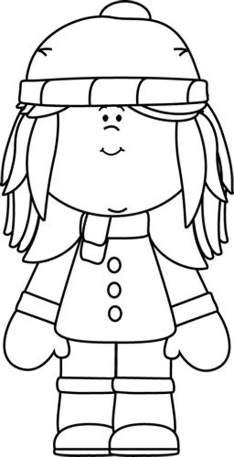 winter coat clipart black and white winter clipart black and white clipartxtras