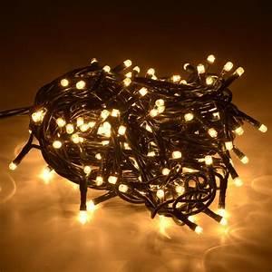 LUCI NATALE 100 LED per esterno luce calda Casa Mia Shopping