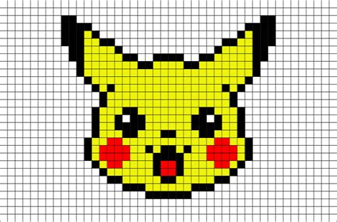 Pixel Art Pokemon Facile