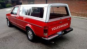 One Owner-1981 Vw Caddy Pickup