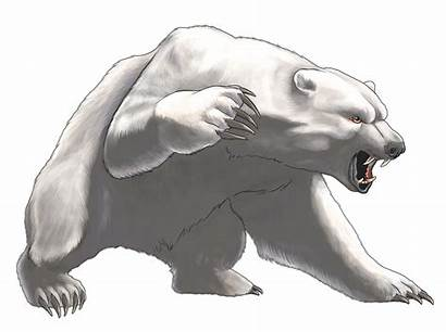 Bear Polar Angry Clipart Animals Clipartpng Transparent