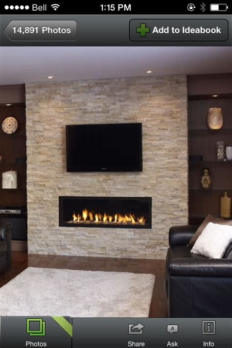 Hang Tv Above Brick Fireplace by Tv Mount On Veneer Wall