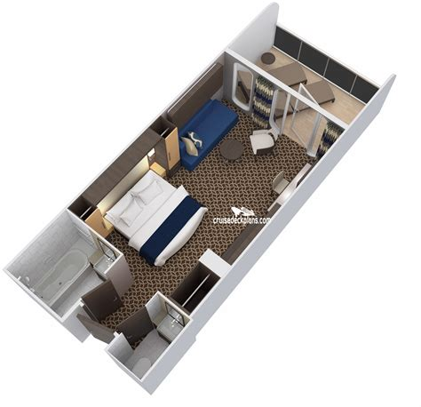 Of The Seas Cabin Layout Ovation Of The Seas Family Junior Suite Stateroom