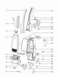 Eureka Series 2200 Factory Parts Diagrams And Schematics  Evacuumstore Com
