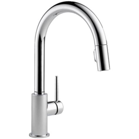 Ferguson Delta Kitchen Faucets by D9159dst Trinsic Pull Out Spray Kitchen Faucet Chrome At