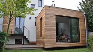 extension bois nord 6 modern house pinterest With delightful maison bois toit plat 9 extensions nord maison bois nord