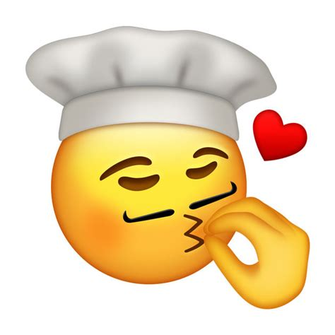 bag of kisses kisses fingers like a chef the emoji on the app