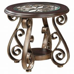 Standard, Furniture, Bombay, Round, End, Table
