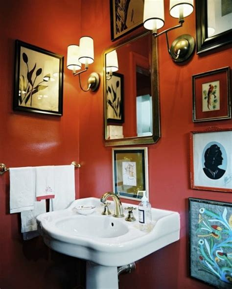 Ideas For An Orange Bathroom by Orange Bathroom Decorating Ideas Interior Design