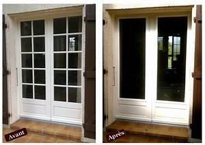 menuisier rge double vitrage de renovation toulouse With porte fenetre double vitrage bois