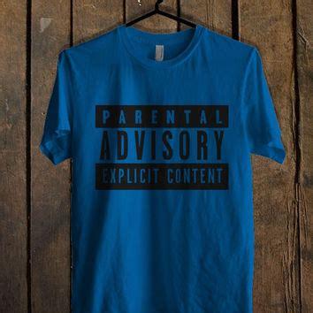 shop parental advisory content shirt on wanelo