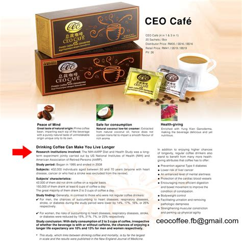 Health is Wealth: Ceo Cafe with Ganoderma