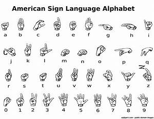 asl alphabet label http wwwwpclipartcom sign With picture letter signs