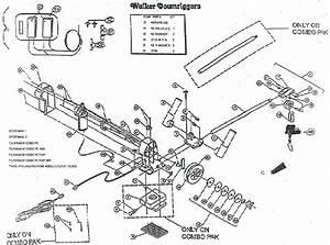 Order Walker Electric Downrigger Parts Online From Fish307 Com