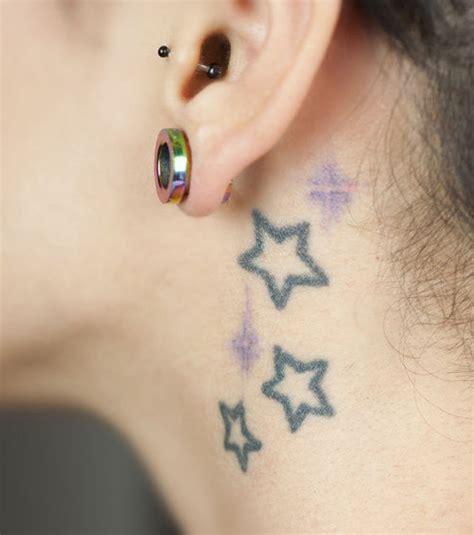 Tatouage étoile  20 Idées Pour Un Tatouage Femme