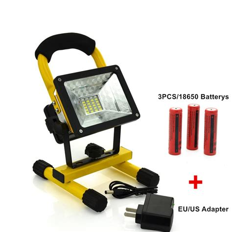traveler led work lights waterproof 30w led flood light portable spotlight 24led