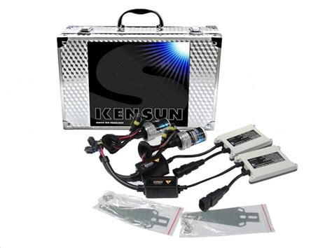 55w 9006 kensun hid xenon lights single beam conversion kit
