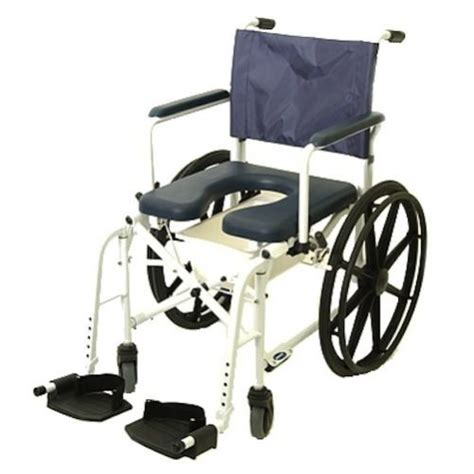 invacare transport chair 12 inch wheels invacare mariner 6895 shower wheel chair wheelchair ebay