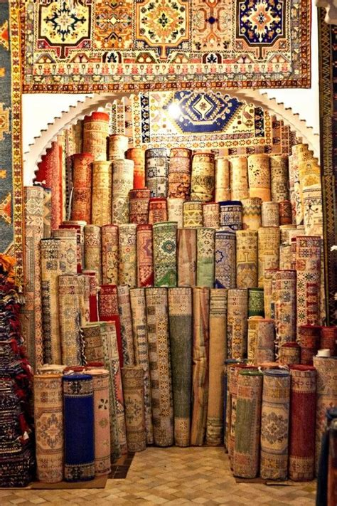 Rug Store, Morocco, So Much Fun To Shop There! I Had To