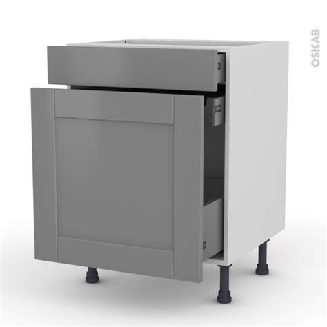 meuble a epices cuisine meuble de cuisine range 233 pice filipen gris 3 tiroirs l60 x h70 x p58 cm oskab